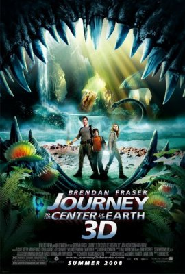 Journey to the Center of the Earth 3-D - one sheet