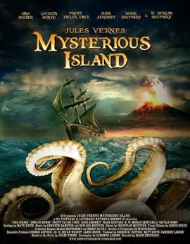 Jules Verne's Mysterious Island - one sheet