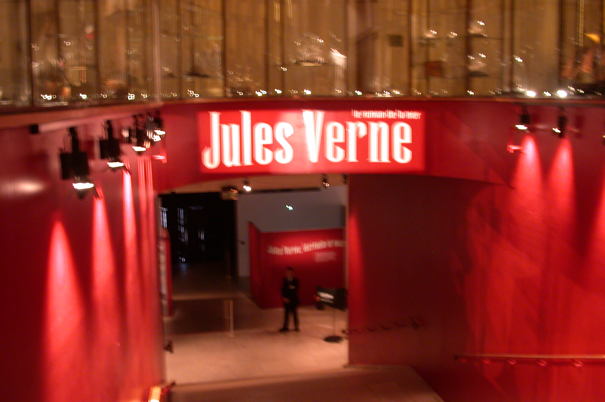 DSCN0212.jpg - The Musée national de la Marine de Paris had a special Verne exhibit.