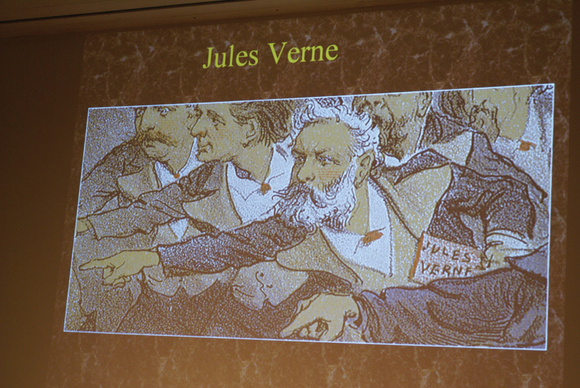 DSC00196.jpg - Verne is one of the author's featured in a cartoon featured in this magazine.