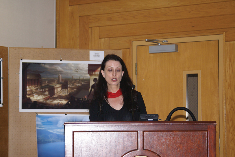 "DSC00201.jpg - ""Technology, Humanity, and the Hollow Earth"" by Sherryl Vint, Brock University"